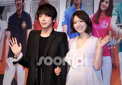 """""""Heartstrings"""" Jung Yong Hwa, """"Park Shin Hye and I are Just Friends"""" @ Press Conference"""
