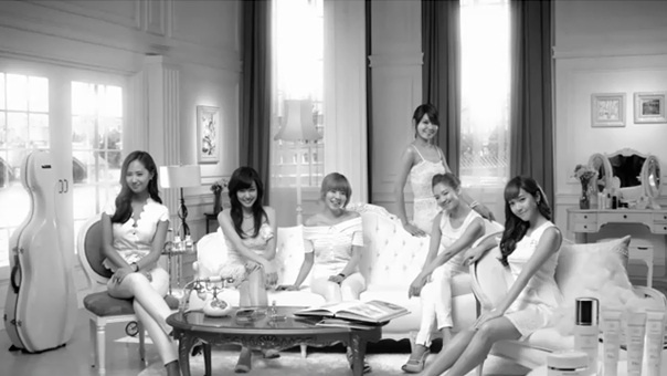 SNSD DIOR SNOW CF Released