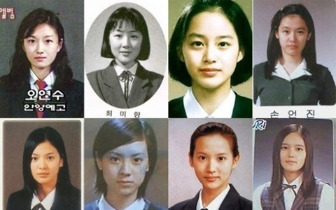 High School Graduation Photos of Various Actresses Become a Hot Issue