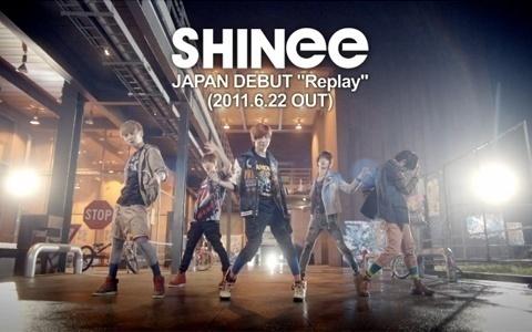 "SHINee Releases ""Replay"" Japanese Ver. MV"