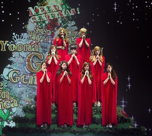 """Preview Photos and Video for """"SNSD's Christmas Fairy Tale"""" Special Concert"""