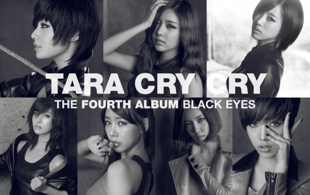 "T-ara Reveals Jacket Cover for ""Cry, Cry"""