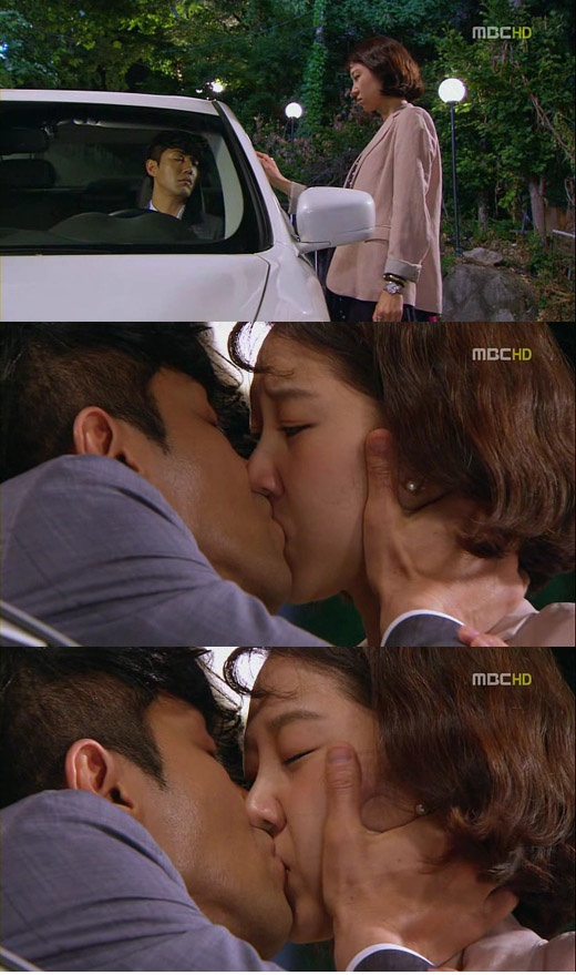 """The Greatest Love's"" Dokko Jin Reenergizes with Passionate Kiss!"