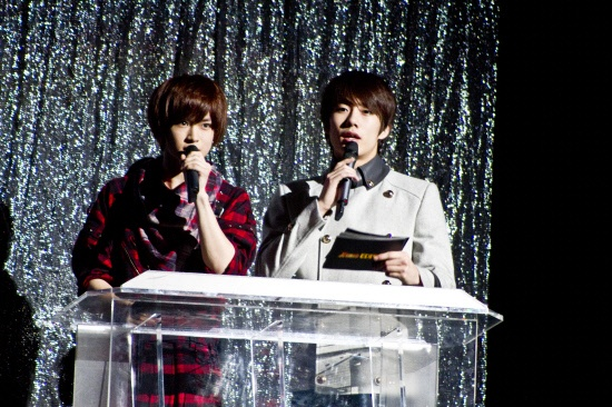 The Boss' Garam & X-5's Gun Debut as MCs at Japanese Concert