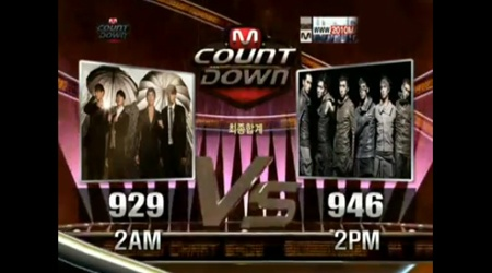 Mnet M! Countdown 11.04.10