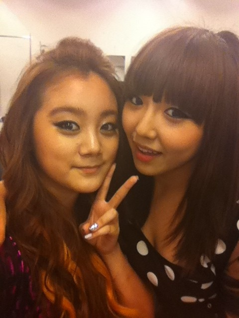 Miss A Min Shares Behind the Scenes JYP Nation Concert Images