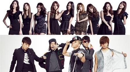 SNSD and Big Bang Win and Perform at Japan Record Awards
