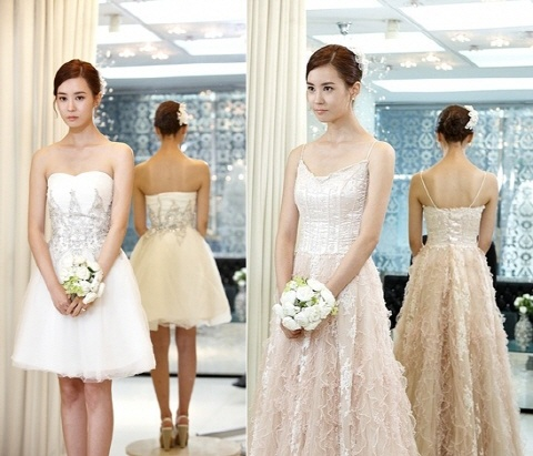 Lee Da Hae Looking Like a Goddess in a Lovely Wedding Dress!