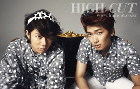Kim Hee Chul & Kim Jung Mo's Playful and Haughty High Cut Photoshoot