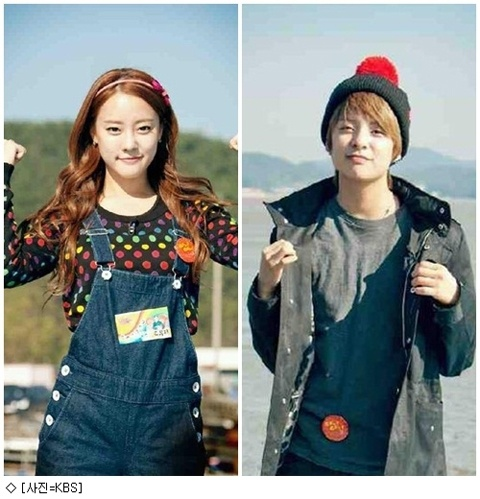 f(x) Amber and Rainbow Go Woori Are BFFs?