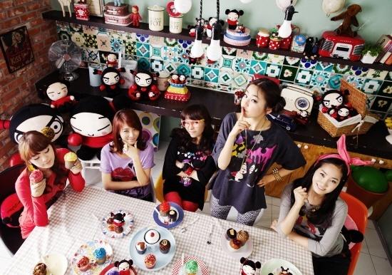 Wonder Girls Meet Pucca