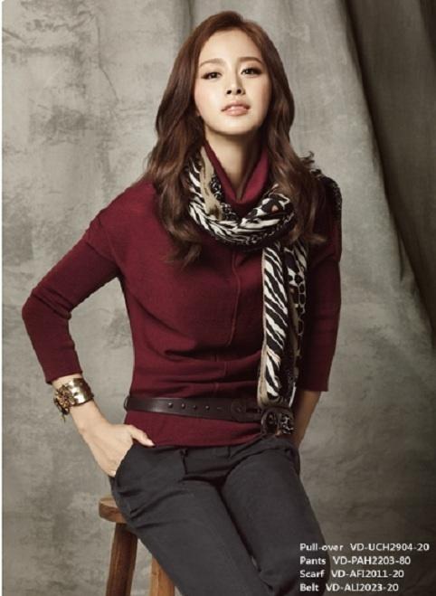 Kim Tae Hee is a Fall Fashion Goddess