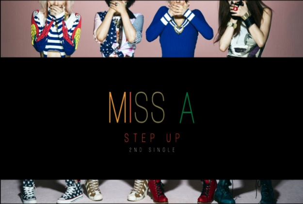 "Miss A's Teaser Photos For Next Single ""Step Up"""
