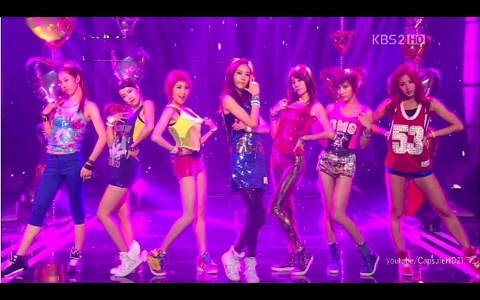 GangKiz Makes Their Music Core Debut Performance