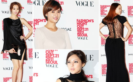 Vogue's Fashion Night Out Photo Session in Korea