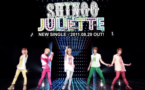 "SHINee Releases Teaser for Second Japanese Single ""Juliette"""