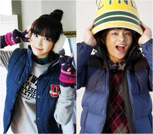 IU and Seo In Guk Fashion Photoshoot Together