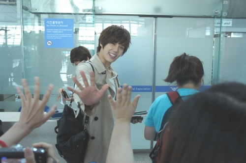 SS501's Park Jung Min Arrived in Taiwan to Begin Drama Filming