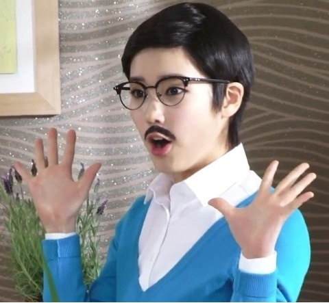 IU Disguised as a Man?!