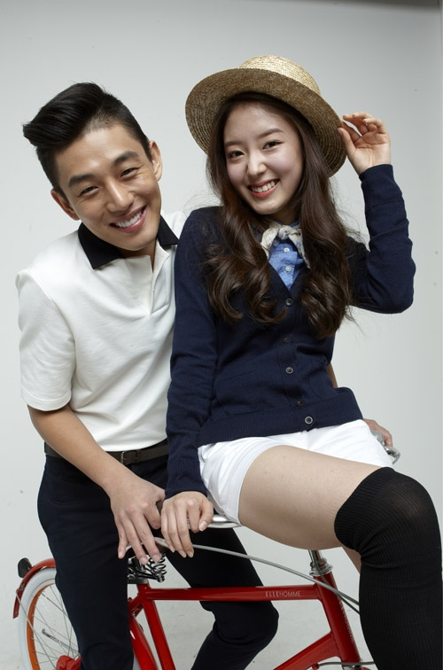 Yoo Ah In and Lee Sae Young Chosen As Bicycle Models