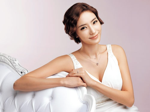 Han Chae Young In A Wedding Dress