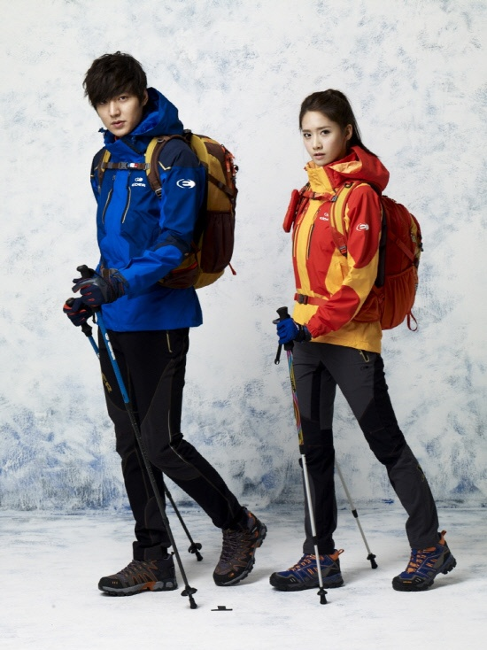 City Hunter Lee Min Ho and SNSD YoonA for Eider