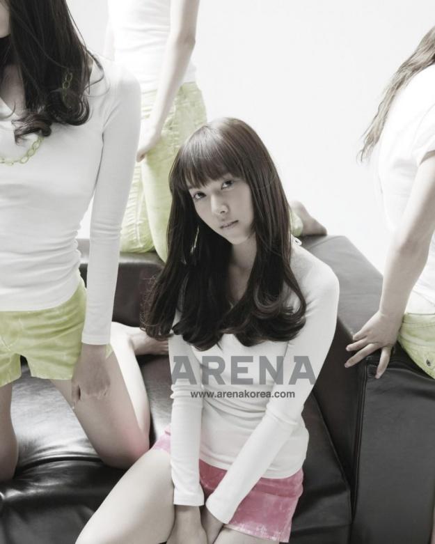 Arena Magazine (March 2009) (Girls' Generation)