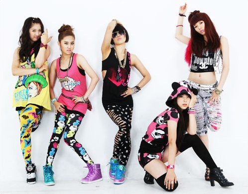 "The Girls of 4minute are ""Superstars"""