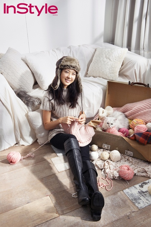 Actress Lee Yo Won Looks Ready for the Winter