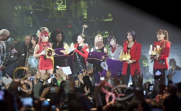 "2NE1 at ""MTV Iggy's Best New Band In The World"""