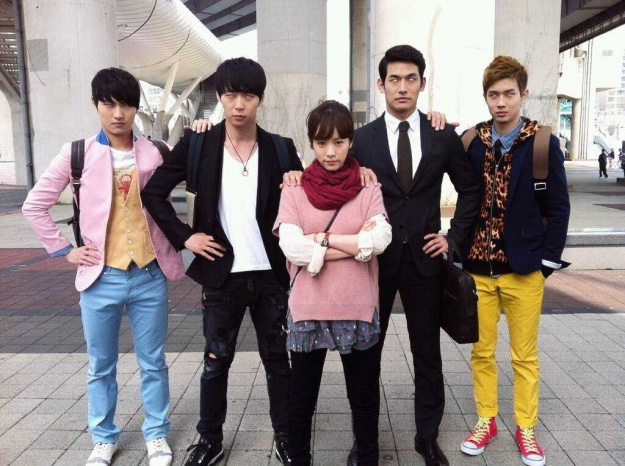 """Yoochun Reveals Funny Photo of """"Rooftop Prince"""" Cast"""