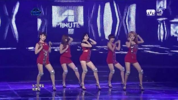 Mnet M! Countdown 04.21.11