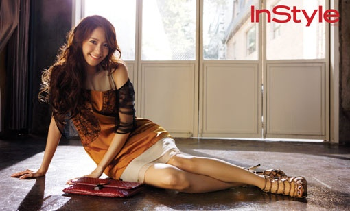 "YoonA's Mature Look for ""In Style"" Magazine"