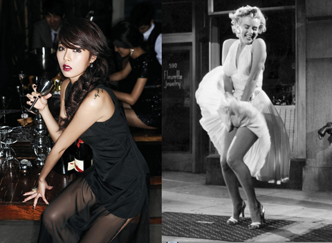 Super Junior's Shindong and Sungmin Transform into HyunA and Marilyn Monroe