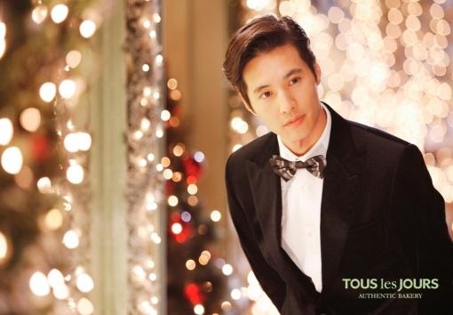 """Won Bin Transforms into a Romantic Prince for """"Tous Les Jours"""""""
