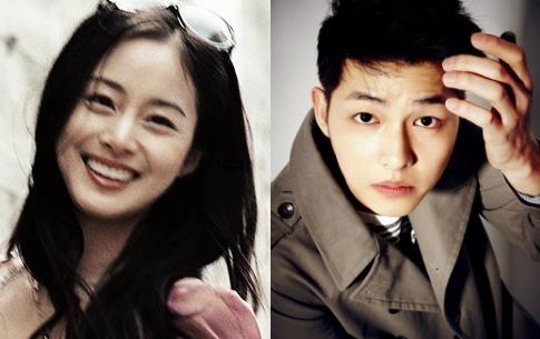 It's Happy Hug Day in Korea! Song Joong Ki and Kim Tae Hee Top Hug Poll