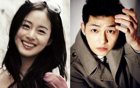 It's Happy Hug Day in Korea! Song Joong Ki and Kim Tae Hee Top Hug Poll
