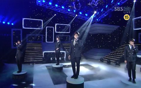 "2AM Performs ""I Wonder If You Hurt Like Me"" on Inkigayo"
