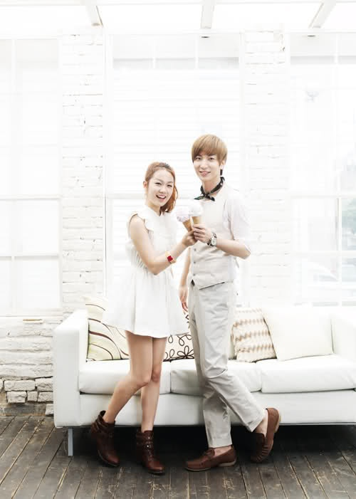 """Joo And Leeteuk Release Teaser For """"Ice Cream"""""""
