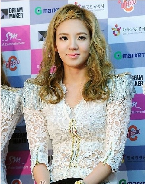 Can SNSD's Hyoyeon Pass for Song Hye Gyo's Twin?