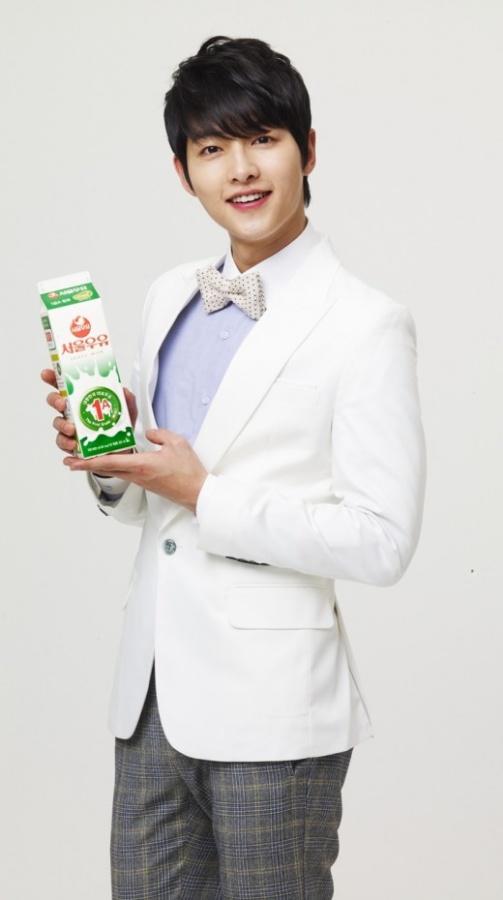 Song Joong Ki for Seoul Milk