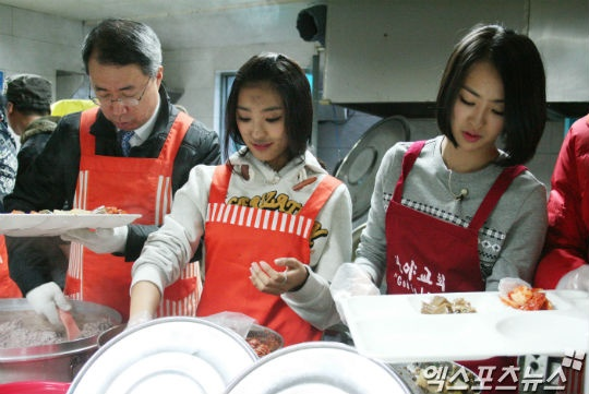 Sistar, Boyfriend, & K. Will Volunteer for Energy