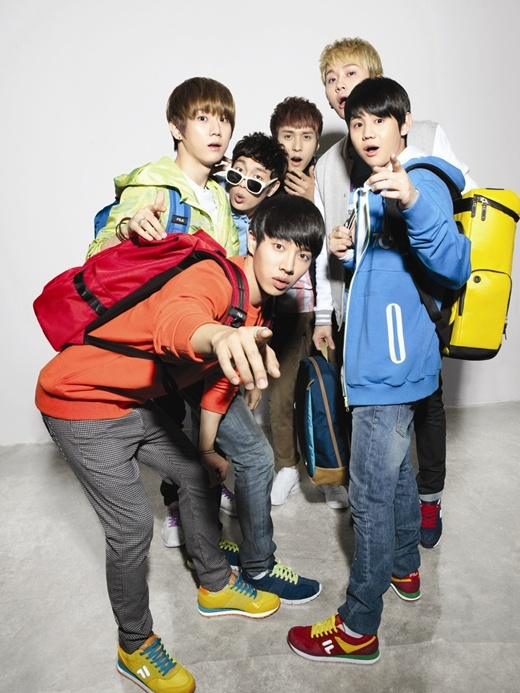 "BEAST Shows Off Individual Charms for ""2012 FILA BEAST Collection"" Photo Shoot"