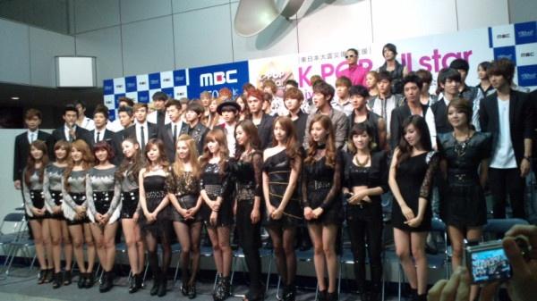 """K-Pop All Star Live in Niigata"" Meets the Press"