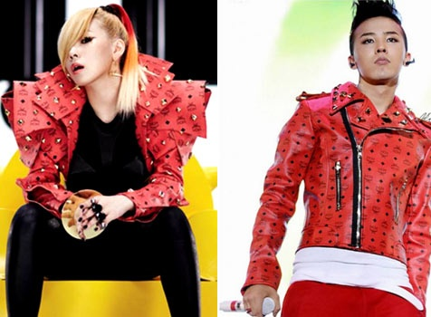 CL and G-Dragon: Matching Jackets?