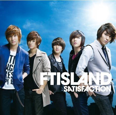 FT Island Ranks Second on Japanese Oricon Singles Chart