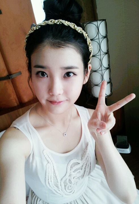 IU Posts Her Picture on Twitter for the Very First Time