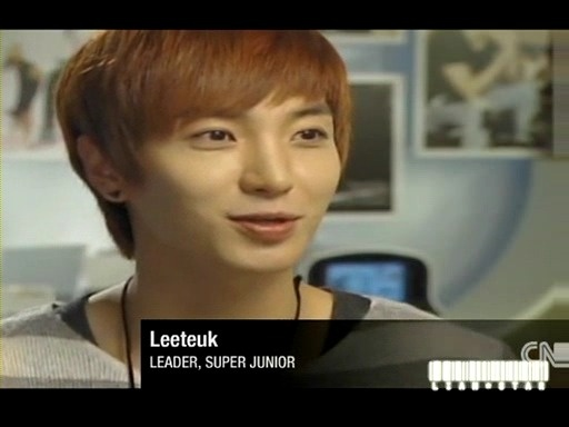 Leeteuk Updates Twitter about Recent CNNi Interview