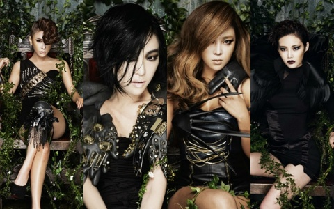 Brown Eyed Girls Releases 4th Album Teaser Photos