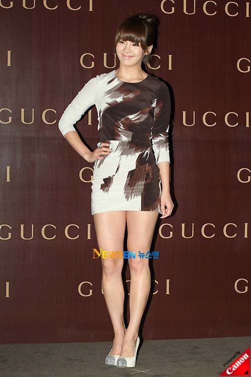 Stars attend Gucci Fall/Winter '10 Collection